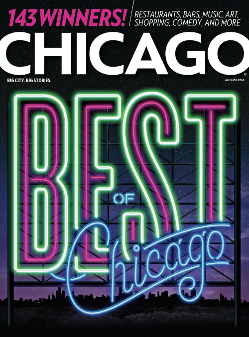 Chicago Magazine Cover August 2014