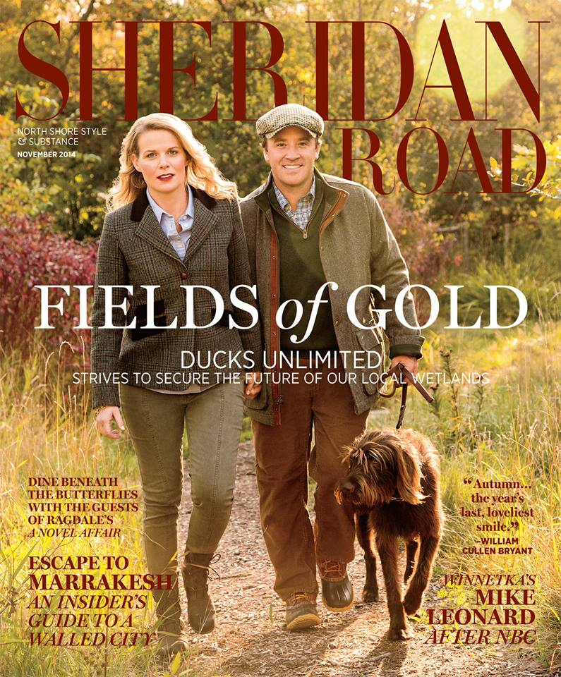 Sheridan Road November 2014 Cover