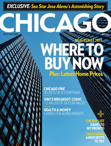 Chicago Magazine April 2015 Cover