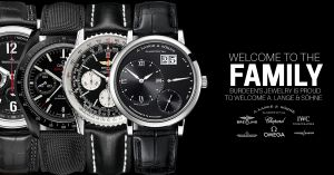 """Welcome to the Family"" A. Lange & Söhne Facebook Ad"