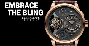 """Embrace the Bling"" JLC Duometre"