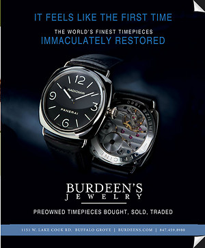 """First Time"" Preowned Watch Magazine Ad"