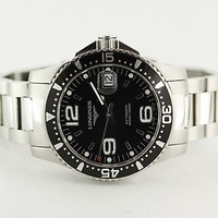 Longines Hydro Conquest Dive Watch L36414 on Bracelet SOLD