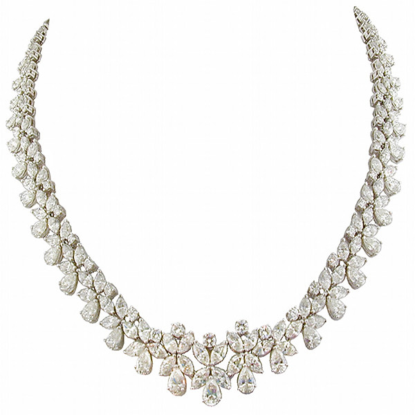 Burdeen's Custom Designed Diamond Necklace