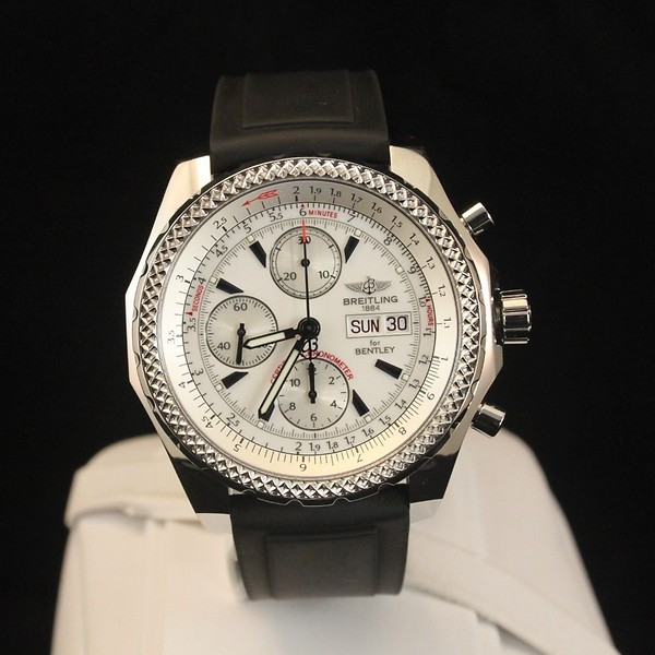 Breitling Bentley GT White Dial On