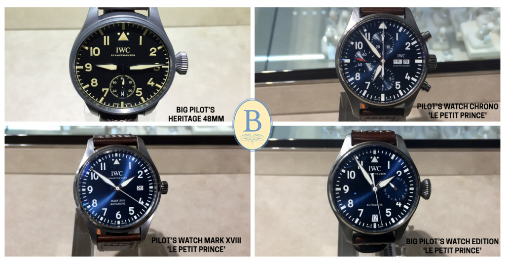 IWC SIHH pieces