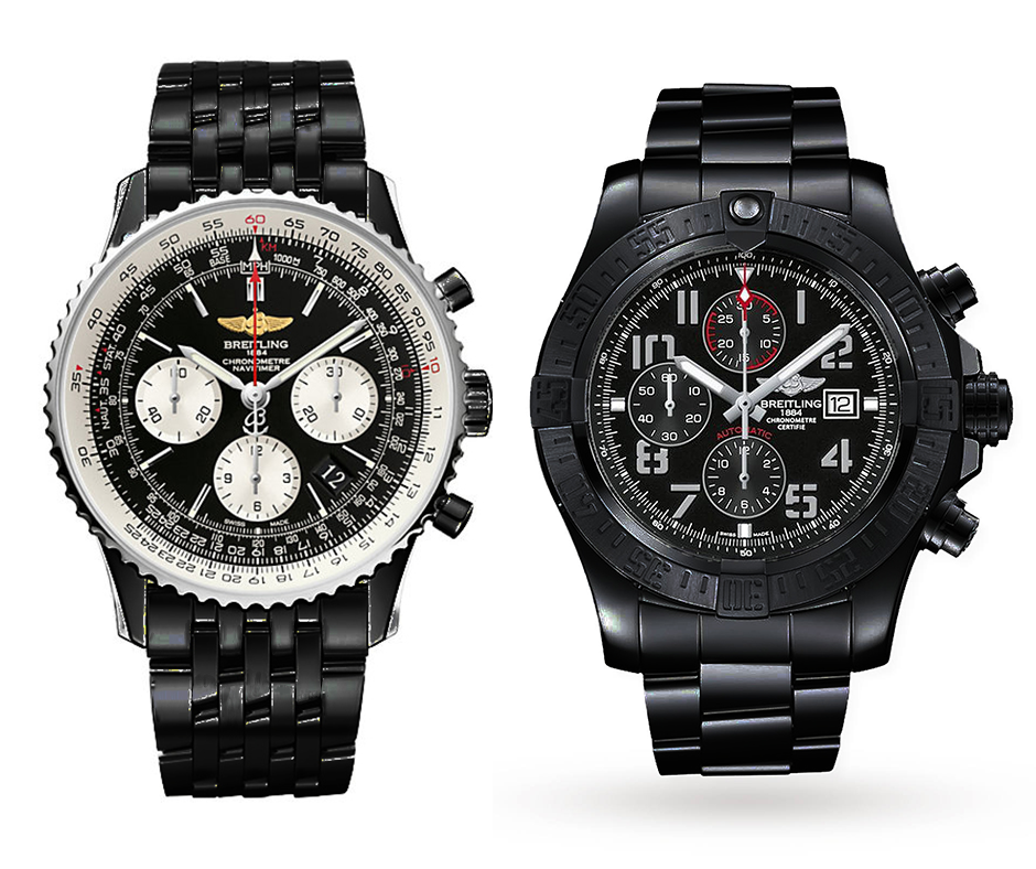 We would be so excited if Breitling would make a Navitimer 01 Blacksteel & Super Avenger II Blacksteel - with a Blacksteel bracelt.