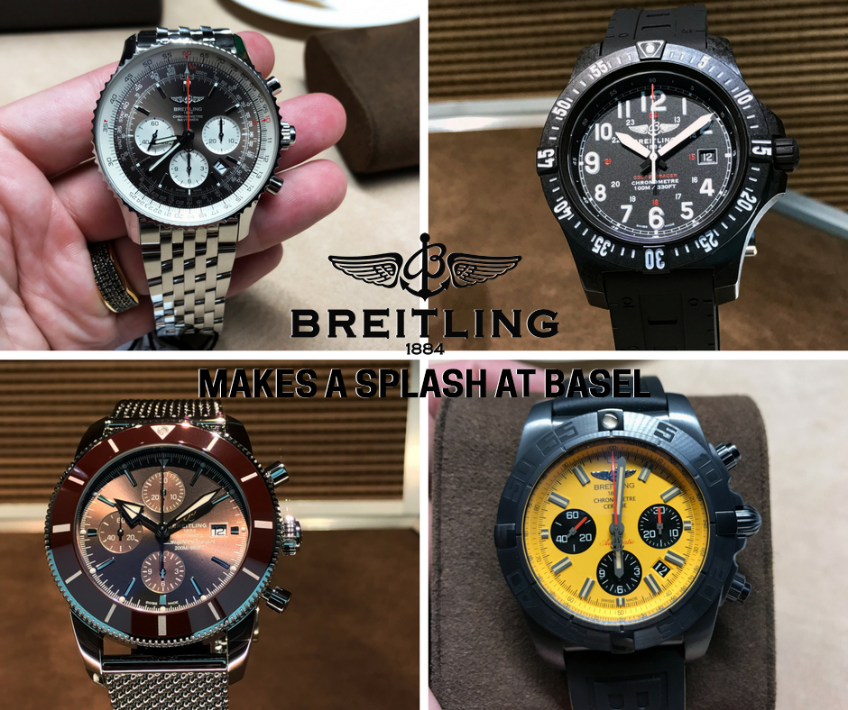 Breitling Baselworld Watches Header