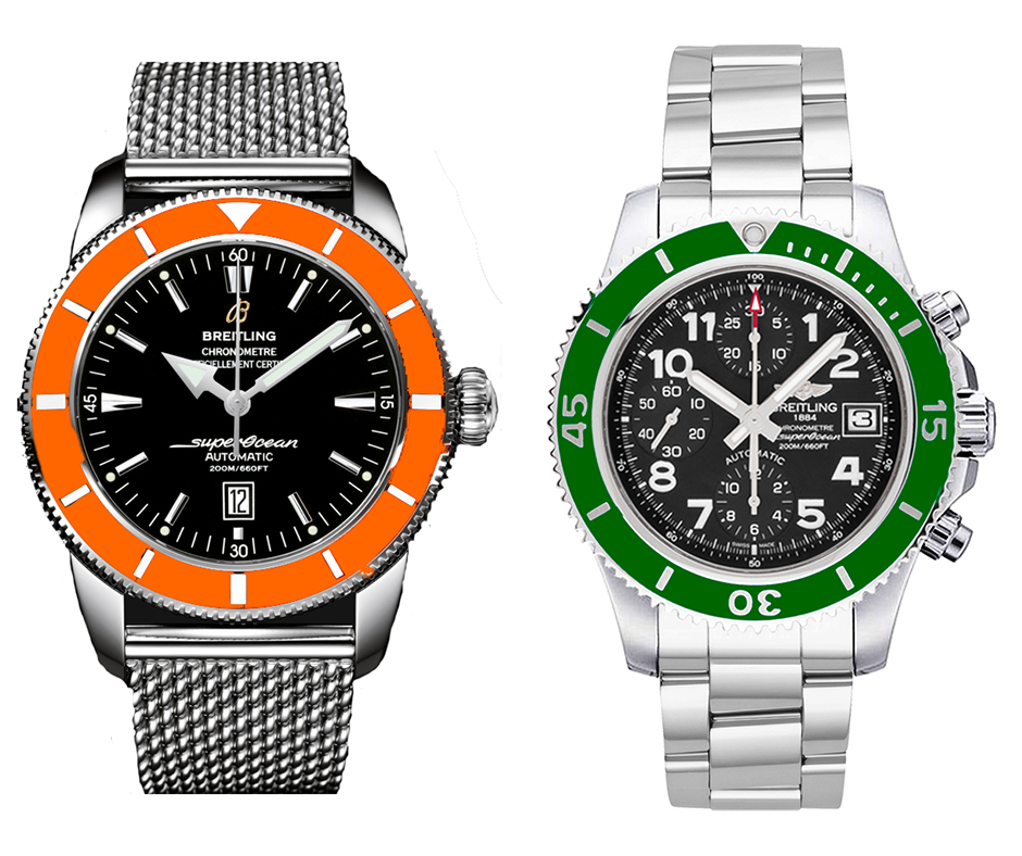 We believe there's room in Breitling's Superocean lineup for more colors. Make it happen!
